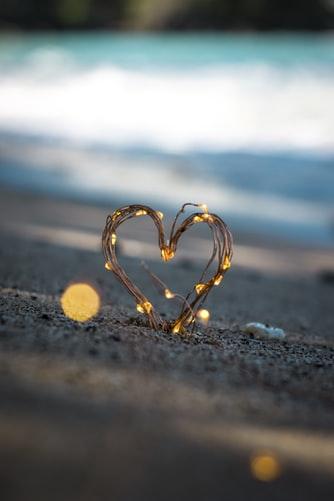 Beach heart