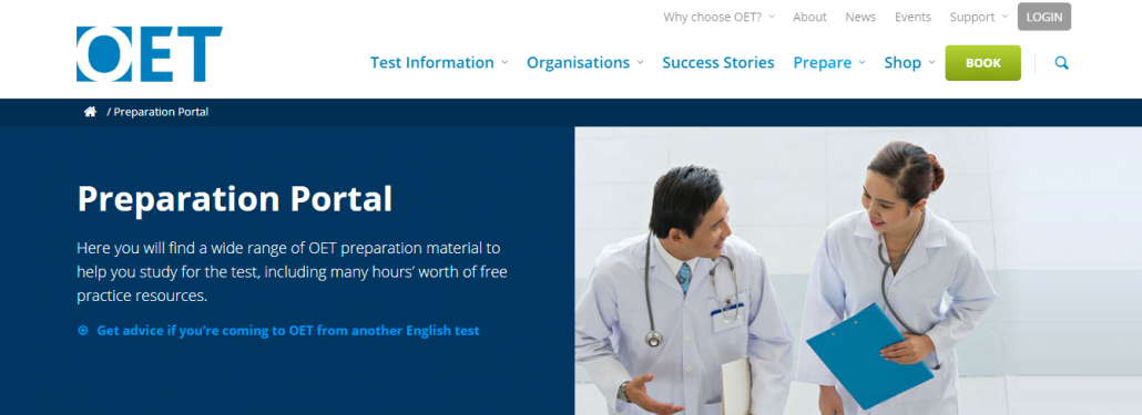 OET Preparation Portal
