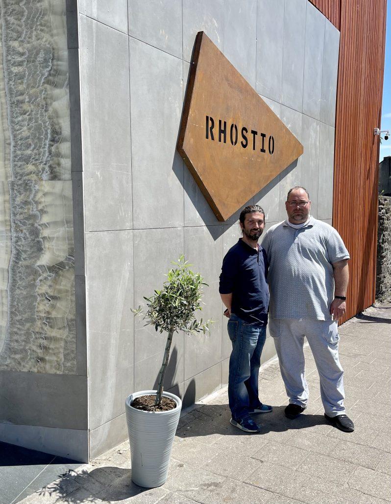 Tunahan and Fatih at Rhostio