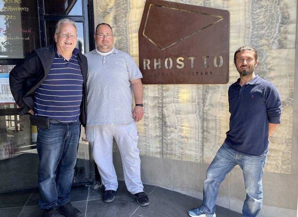 Greg with Tunahan and Fatih